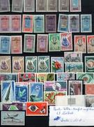 Timbres De La HAUTE-VOLTA  , 47 Timbres Neufs  Et Avec Charnières - Haute-Volta (1958-1984)