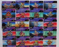 Musha Gundam : SD Sengokuden Fuurinkazan Hen : 20 Japanese Trading Cards - Trading Cards