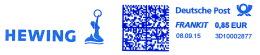Freistempel 6944 Meerjungfrau - Machine Stamps (ATM)