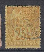 #109# COLONIES GENERALES N° 53 Oblitéré Gorée (Sénégal)