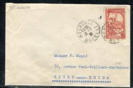 France - Enveloppe De Morhange Pour Vitry Sur Seine 1939 Affranchissement Plaisant   Réf O 57 - Postmark Collection (Covers)