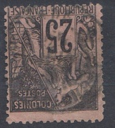 #109# COLONIES GENERALES N° 54 Oblitéré Pondichéry (Inde)