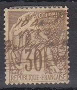 #109# COLONIES GENERALES N° 55 Oblitéré à La Plume