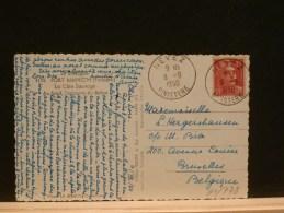 61/778   CP POUR LA BELG.  1950  0BL. NEVEZ  FINISTERE