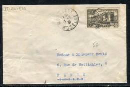 France - Enveloppe De Morhange En 1939 Pour Paris ,  Affranchissement Plaisant   Réf O 64 - Marcophilie (Lettres)