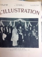 L´ILLUSTRATION N° 4952 Du 29 Janvier 1938 -- Mariage Du Roi FAROUK -- Roi D'Egypte - L'Illustration