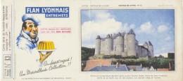 Buvard - FLAN LYONNAIS - Chateau De Luynes - N°13 - Blotters
