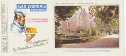 Buvard - FLAN LYONNAIS - Chateau De MEUNG UR LOIRE - N°3 - Blotters