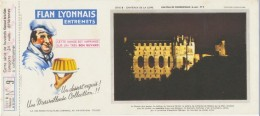 Buvard - FLAN LYONNAIS - Chateau De CHENONCEAUX - N°9 - Blotters