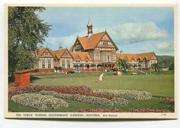 New Zealand - Rotorua - Tudor Towers, Croquet Lawn, Government Gardens - Unclassified