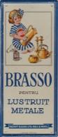 Romania - Brasov - Metalic Advertise -  70x170mm - Caps