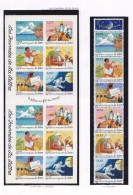 FRANCE 1998 LA JOURNEE DE LA LETTRE BANDE 3155 A CARNET 3156 A 3161 BC 3161A MNH - France