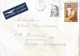 SANTIAGO/CHILE - BIRRWIL/SCHWEIZ → Brief  Anno 1978 ►Mischfrankatur◄ - Chili
