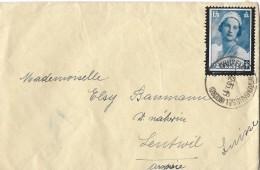 BRUXELLES - LEUTWYL → Brief  Anno 1935 - Belgien
