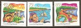 Cocos Keeling Islands 1997 SG 351-3 Hari Raya Puasa Festival  Unmounted Mint - Cocos (Keeling) Islands