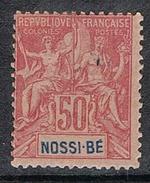 NOSSI-BE N°37 N* - Nossi-Bé (1889-1901)