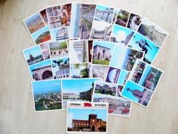 15 Post Cards In Folder From Armenia Ussr 1974 Yerevan - Armenië