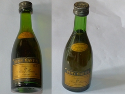 OLD MINI BOTTLE COGNAC REMY MARTIN VSOP FINE CHAMPAGNE 4,5 CL MINIATURE - Mignonnettes