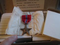Médaille US BRONZE STAR EN BOITE 1944 - 1939-45