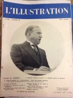L´ILLUSTRATION N° 4992  Du 5 Novembre 1938 -- Le Président Edouard DALADIER - L'Illustration