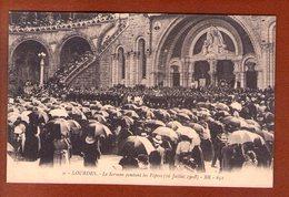 1 Cpa Lourdes 16 Juillet 1908 - Lourdes