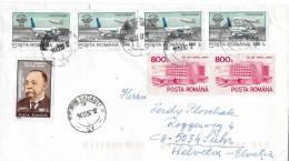 RADAUTI - SUHR → Brief Mit Schöner Mischfrankatur 1997 - 1948-.... Républiques