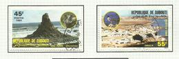 Djibouti N°584, 585, 590, 591, 595 Cote 3.45 Euros - Yibuti (1977-...)