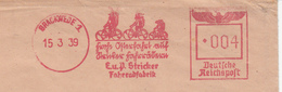 Allemagne - EMA - 1939 - Publicité - Advertising - Cycle - Famille , Promenade