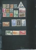 Lot De 21 Timbres De Monaco , Periode Classique Et Semi Moderne Oblitérés  - Ava96