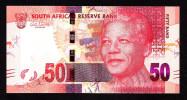 SOUTH AFRICA   : 50 Rand - 2012 - Mandela - UNC - Sudafrica