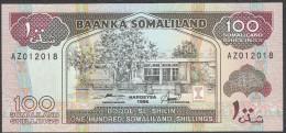 SOMALILAND : 100 Shillings - 1996 - UNC - Banconote