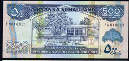 SOMALILAND : 500 Shillings - 2006 - UNC - Banconote