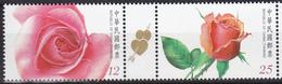 Taiwan 2012, Postfris MNH, Flowers, Roses - 1945-... Republiek China