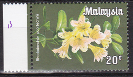 Maleisië 1979, Postfris MNH, Flowers - Maleisië (1964-...)
