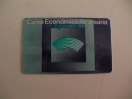 Card Bank Banque Banco Caixa Económica Açoreana Portugal Portuguese - Other