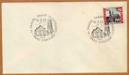 Enveloppe Cover Brief 1503 14 Daagse Frans Vlaanderen Koksijde - Belgium