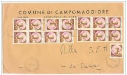 Italia/Italy/Italie: Storia Postale, Postal History, Histoire Postale - Castello, Castle, Château