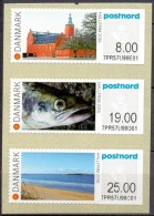 DENEMARKEN 2016 Post Nord Frama PF-MNH - Vignette Di Affrancatura (ATM/Frama)
