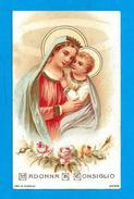 MADONNA DEL BUON CONSIGLIO - PR - CROMOLITOGRAFIA - Mm. 68 X 110 - ED. CAV. A MARINI - ROMA - Religione & Esoterismo