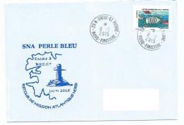 15322 - SOUS-MARIN -- SNA PERLE BLEU - Retour De Mission Atlantique Nord - Escale à Brest - Juin 2015