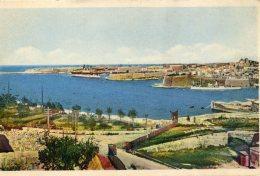 MALTA -  General View Grand Harbour - Malta