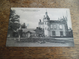 CPA Château Des Bordes, Par Lailly (Loiret), à Gauche, Les Galeries Eugène Sue - Carte Animée - France