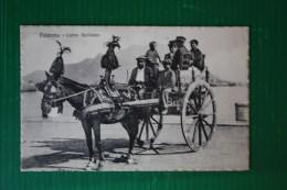 CARTOLINA CARRETTO SICILIANO  - VIAGGIATA - 1913 - Other