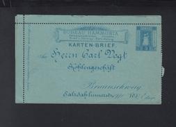 Hammonia Braunschweig Karten-Brief Ungebraucht Mangelhaft - Posta Privata