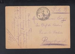 Rheinland Besetzung AK Duisburg Belgien Feldpost 1921 - Briefe U. Dokumente