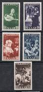 SARRE N°296 A 300 N* Série Complète - Unused Stamps