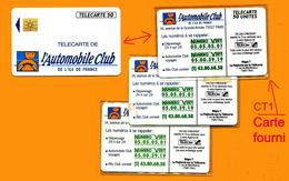 CT1 Télécarte Privée 1990 D281 Texte Vert Foncé, De 50u Tirage % De 7 000 Utilisée SUPERBE          La Photo Est Celle D