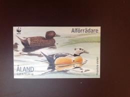 Åland 2001 Ducks Birds Booklet MNH - Vogels