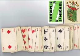 Jeu De 52 Cartes Complet Avec Joker : Cigarettes St Michel - Cartes à Jouer Classiques
