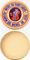 BIERE DU FORT CARRE - FLEURON DES BIERES DE LUXE - Beer Mats